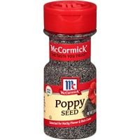 McCormick Whole Poppy Seed, 2.37 oz