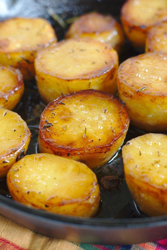 Fondant Potatoes (Pommes Fondant)