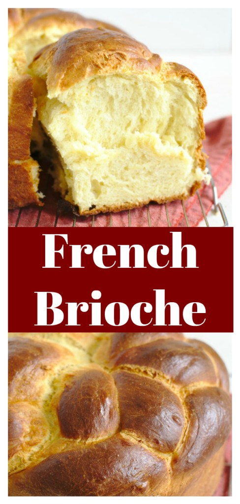 French Brioche Bread - A light and fluffy bread with a rich flavor from eggs and butter. This bread is easy to make and is great to use for everything from french toast to sandwiches. French Brioche Bread Recipe | Brioche Recipe | French Bread Recipe #bread #baking #french #brioche
