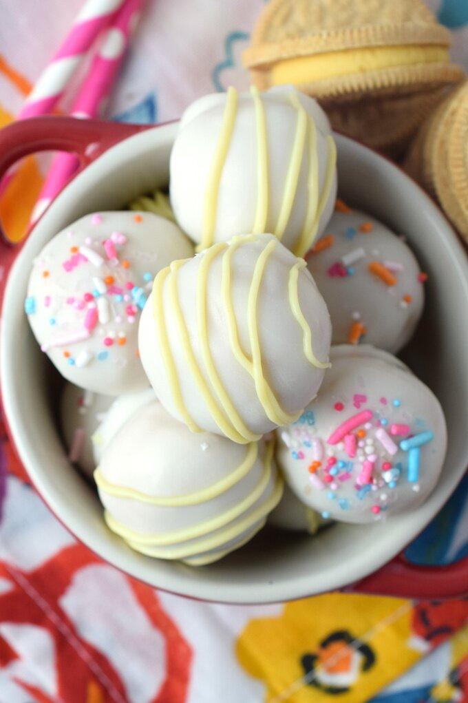 Lemon Cookie Truffles Recipe