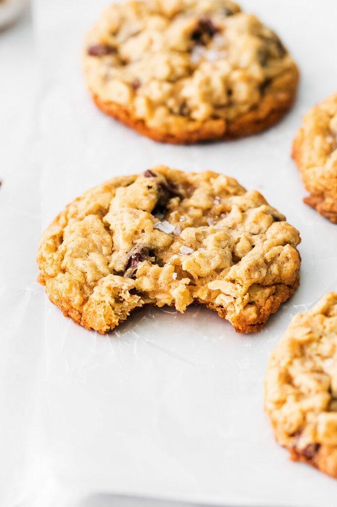 Chocolate Oatmeal Cookies