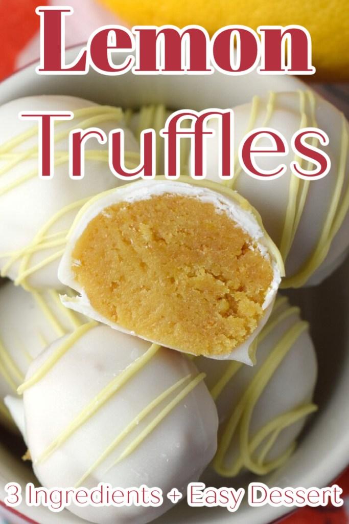 Lemon Truffles Recipe