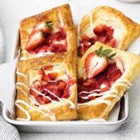 Strawberry Cream Cheese Danishes