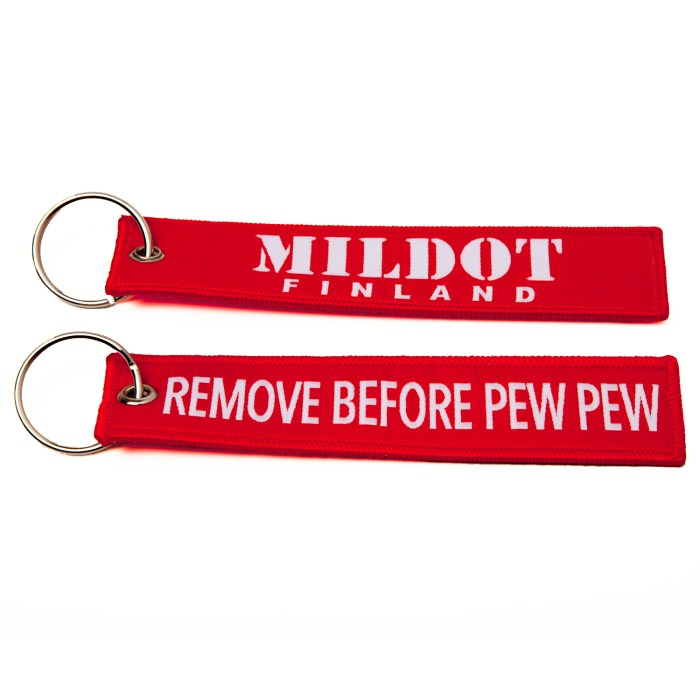 remove before pew pew