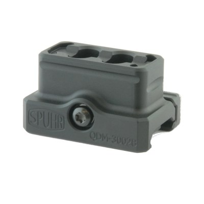 Spuhr QDM-3002B Red Dot Mount 42mm/1.65″ Mro Mount Lower 1/3