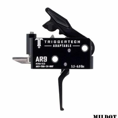 Triggertech AR-9 Adaptable Straight Black