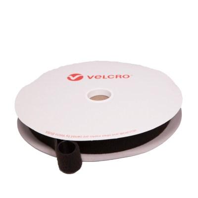 Velcro One-wrap – 25mm – musta
