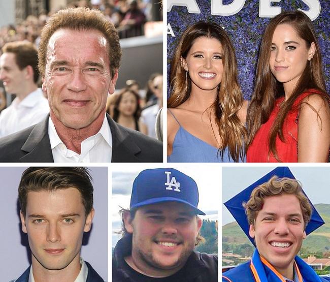 The children of Arnold Schwarzenegger