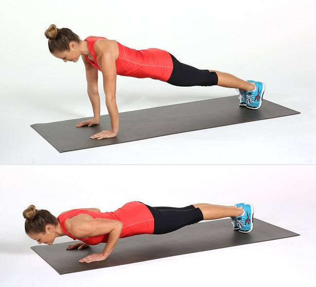Exercises for a firm and toned bust