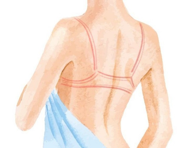 Itwill free you from those pressure lines around your body.