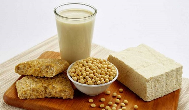 Soy-based processed foods