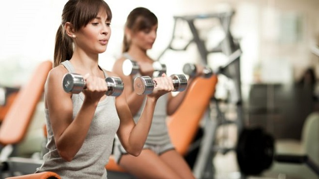Exercise and lift weight 3 times per week