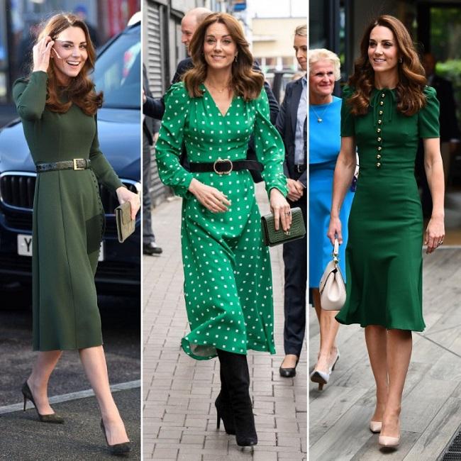 Kate middleton in green dress