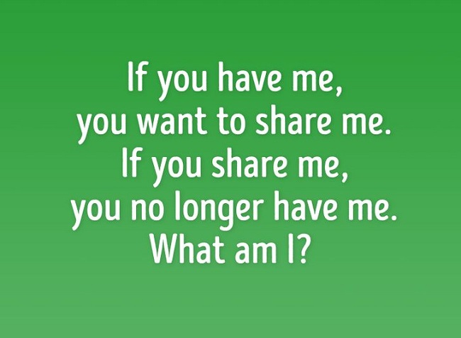 What can you not share