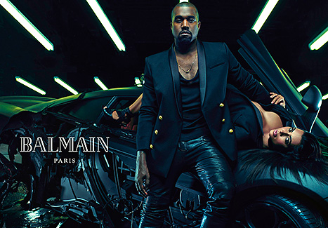 KIM KARDASHIAN AND HUSBAND IN STEAMY NEW BALMAIN CAMPAIGN!...BONUS: MOST RECENT PICS OF KIM!PICS