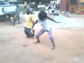 MUST SEE VIDEO...SEE LADY DANCING AS IF HER LIFE IS TIED TO THE MUSIC...YOUTUBE THINKS SHE IS DRUNK...DO YOU THINK SO TOO?