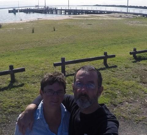 Selfie at Loch Sport