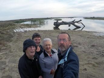 Four Mile Beach team, Lake Hindmarsh