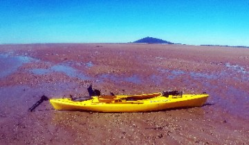 Kayak at 4 Mile Beach