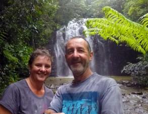 Us and Elinjaa Falls
