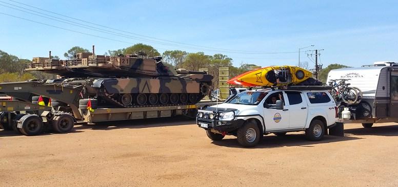 Nice clean Tank, Nice clean Car/Caravan