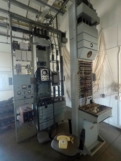 Telegraph exchange modernisation