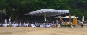 Hindu Beach funeral