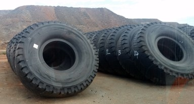 There is $560000 of tyres stacked up here