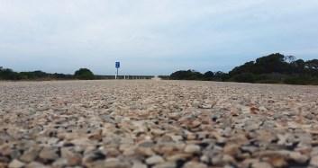Highway photo art