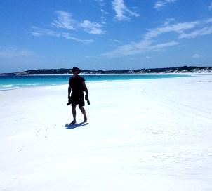 Is this Australia's whitest sand