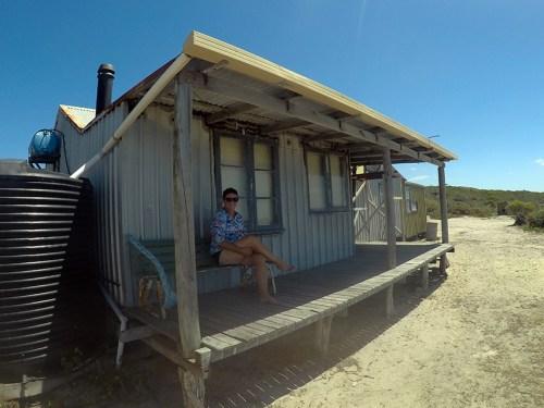 Very remote shack