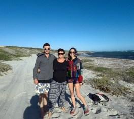 My team for Three Mile Beach
