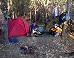 Our bush camp