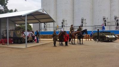 Armistice Day ceremony at Three Springs