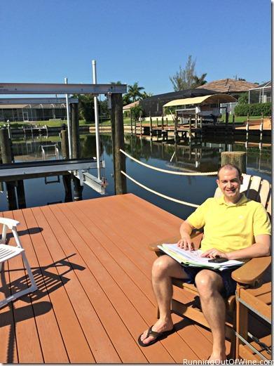 morning on dock
