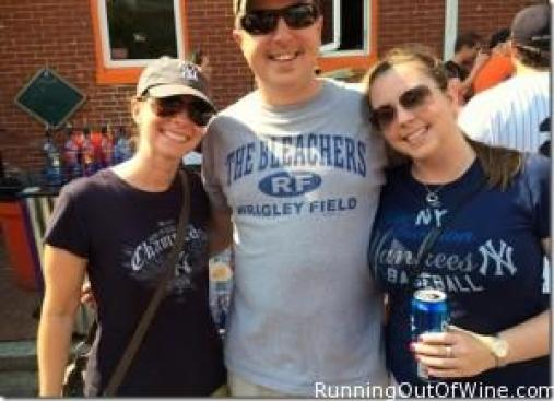 Yankees fans- but Williams is wearing a Cubs shirt?