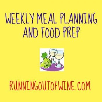 weekly meal planning and food prep