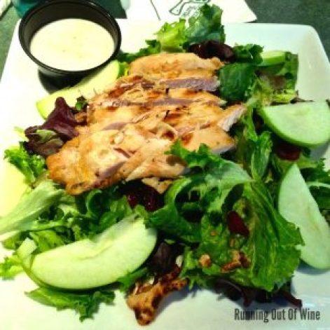 green turtle salad