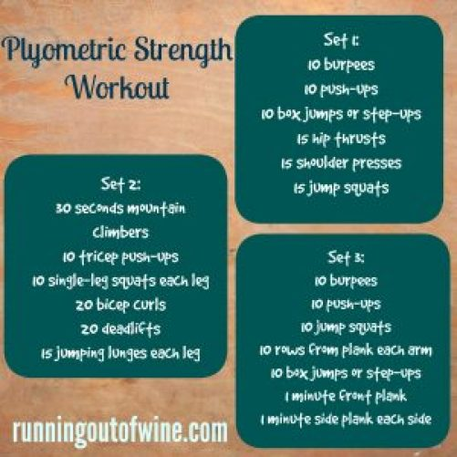 plyometric strength workout