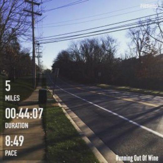 hilly run