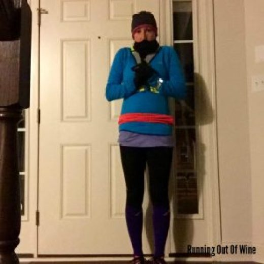 winter running clothes