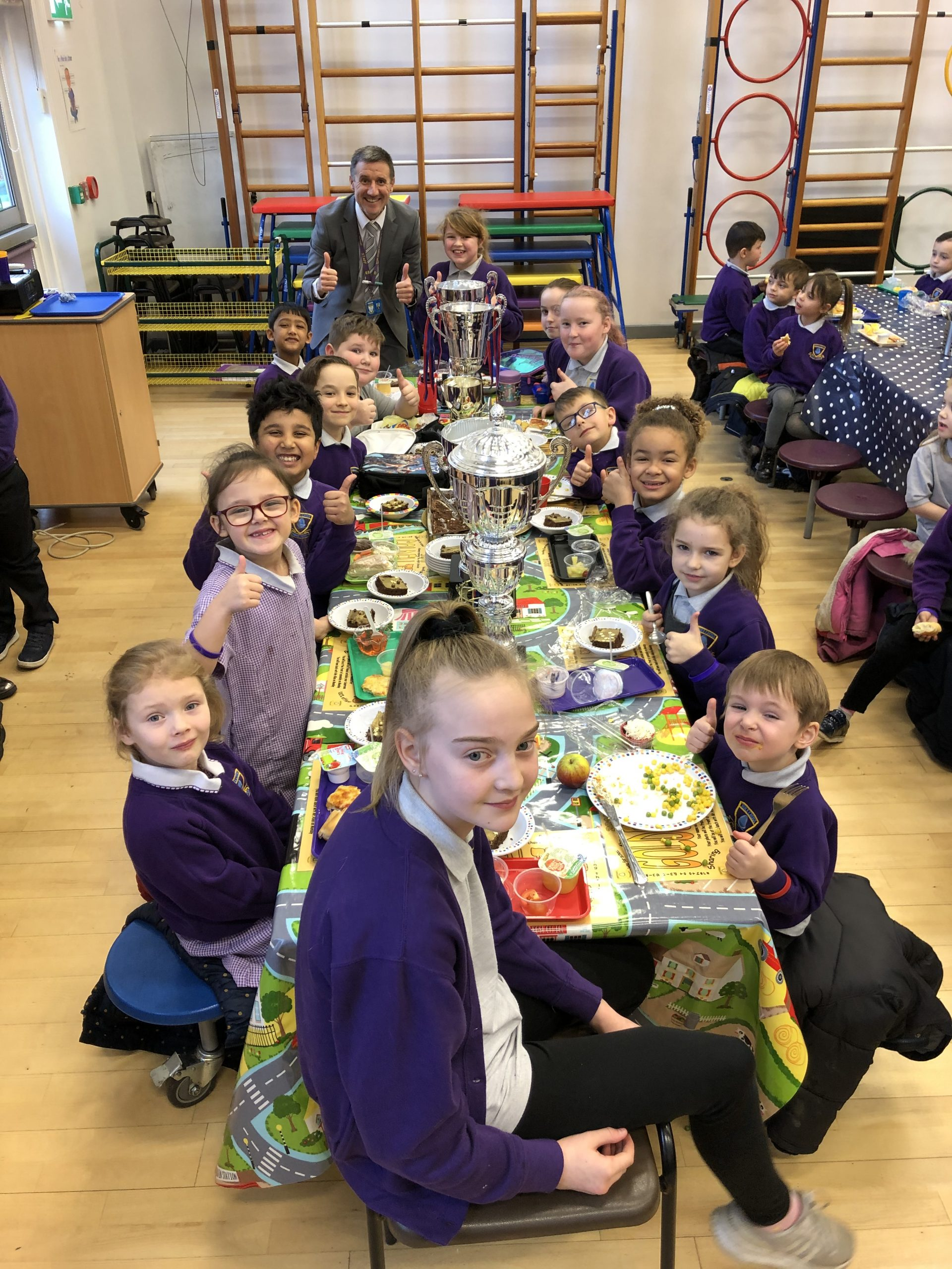 Golden Ticket Winners Lunch with Mr Allen. Monday 13th January 2020