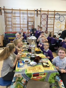 Golden Ticket Winners Lunch with Mr Allen. Monday 2nd March 2020