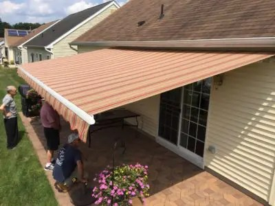 Mile High Shade in Denver provides exceptional awning recovering, repair and service for all retractable awning types and brands.