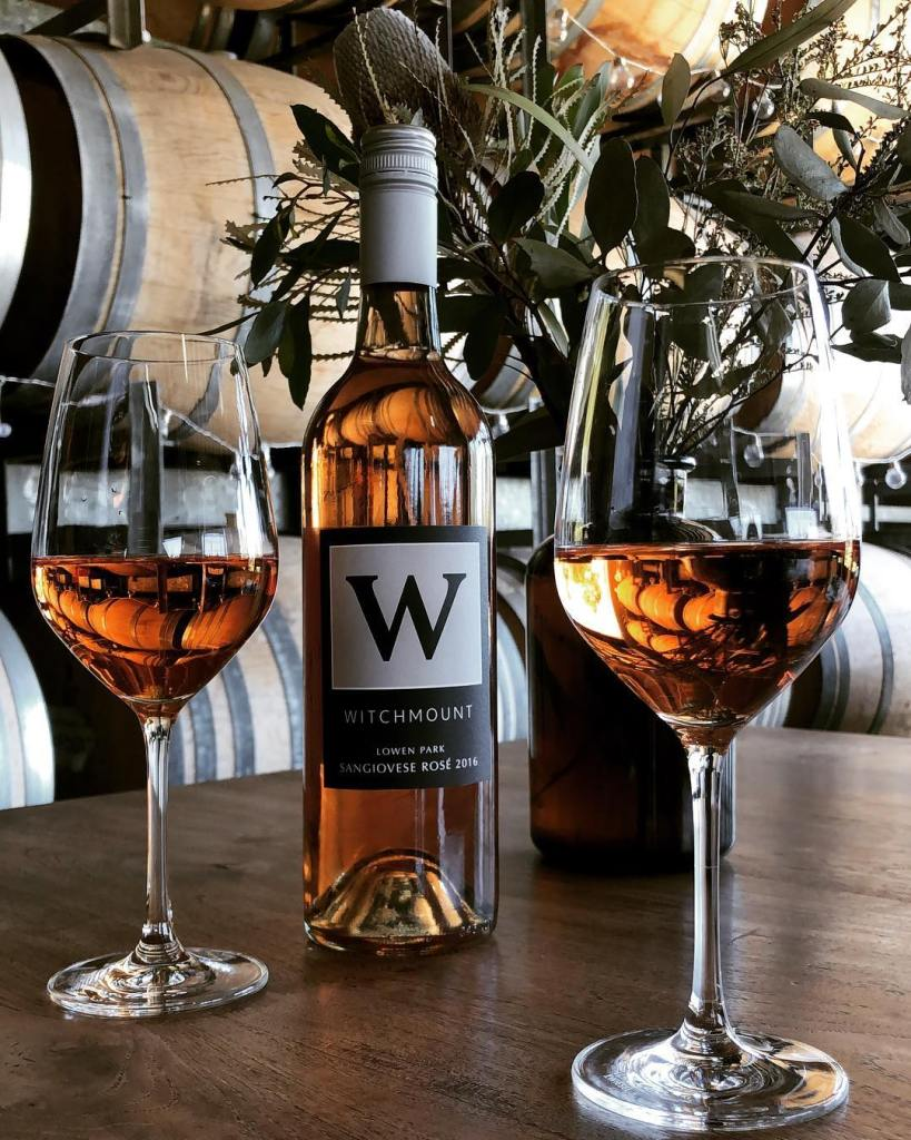 Rose, Witchmount winery, Witchmount, cellar door, Helicopter tours