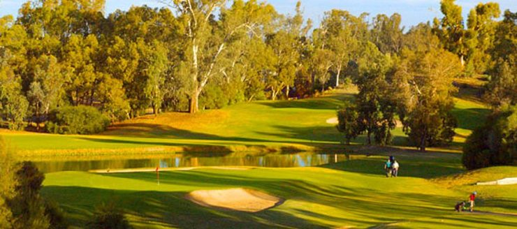 Golf on the murray