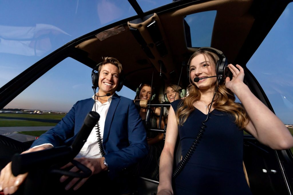 Helicopter ride melbourne