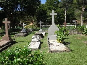 28 Trinidad's governers have been buried here since 1819