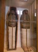 An elaborate coffin