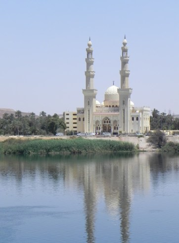 Mosque on the Nile